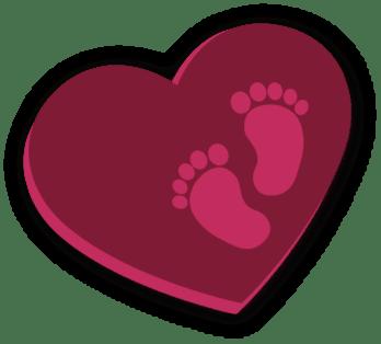 Weißes Herz